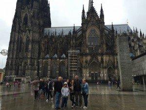 Köln Katedrali ( 16 Ağustos 2015)