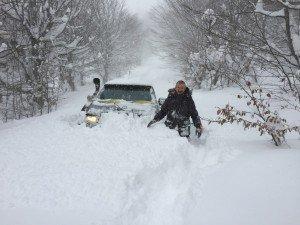 Kar Altında ( 23 Ocak 2016 )